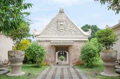 Piscine antique au château Yogyakarta, Java, Indon de l'eau de sari de taman Photos libres de droits
