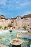 Piscine antique au château Yogyakarta, Java, Indon de l'eau de sari de taman Photographie stock