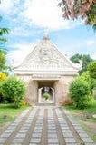 Piscine antique au château Yogyakarta, Java, Indon de l'eau de sari de taman Images libres de droits
