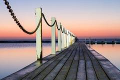 Piscine d'océan de Narrabeen Image stock