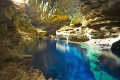 Piscine de caverne Image stock