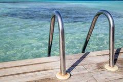 Piscine des Caraïbes Photographie stock libre de droits