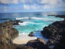 Piscine en mer Images libres de droits