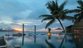 Piscine tropicale Photos libres de droits