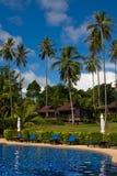 Piscine tropicale en Thaïlande Image libre de droits