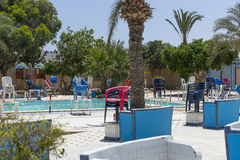 Piscine vide Photos stock