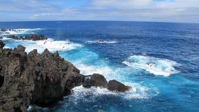piscines de Lave-roche Image stock