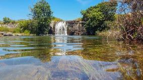 Piscines de Mac Mac sur la traînée de Fanie Botha Hiking images libres de droits