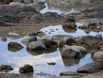 Piscines de roche Photo libre de droits