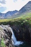 Piscines féeriques, île de Skye, Ecosse images stock