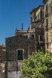 Pisciotta, Cilento, Italy. Small medieval village. Royalty Free Stock Photo