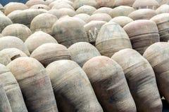 Pisco Amphoras Royalty Free Stock Image