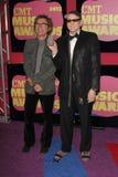 Pisco de peito vermelho Zander, Rick Nielsen nas 2012 concessões da música de CMT, arena de Bridgestone, Nashville, TN 06-06-12 Fotos de Stock Royalty Free