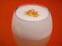 PISCO SOUR COCKTAIL. Stock Images
