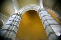 Pise baptismale Images libres de droits