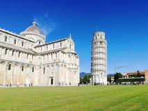 Pise, Italie Tour de Pise, Di Pise de Cattedrale de cathédrale de Pise photo libre de droits