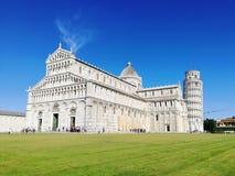 Pise, Italie Tour de Pise, Di Pise de Cattedrale de cathédrale de Pise photo stock