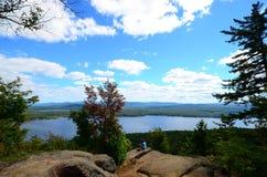 Piseco Lake royalty free stock image