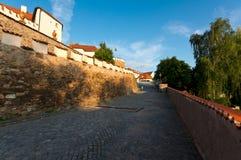Pisek, as paredes Imagens de Stock Royalty Free