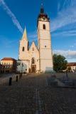 Pisek church - Narozeni pany Marie Stock Photos