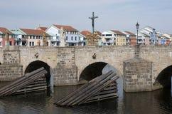 Pisek, République Tchèque Photographie stock libre de droits