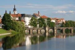 Pisek, República Checa Imagen de archivo libre de regalías