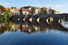 Pisek town, Czech Republic Royalty Free Stock Photography