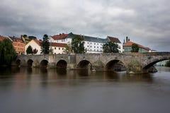 Pisek town, Czech Republic Stock Images