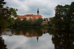 Pisek town, Czech Republic Stock Photography