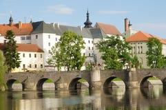Pisek, Tschechische Republik Stockfotos