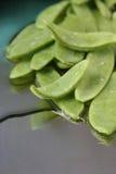 Piselli di neve Fotografie Stock