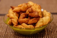 Piselli, keks, pollo e patate Immagine Stock Libera da Diritti
