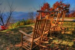 Pisgah austerii ` s Kołysa krzesła Zdjęcie Royalty Free