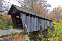 Pisgah Covered Bridge stock photo