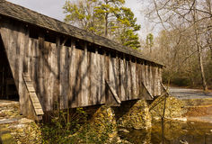 Pisgah Covered Bridge Stock Image