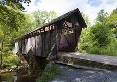 Pisgah ha coperto il ponte in Nord Carolina fotografia stock