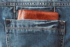 piska plånboken Arkivbilder