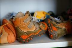 piska skor Fotografering för Bildbyråer