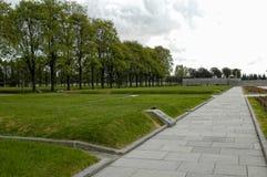 Piskarevskoe纪念品公墓 圣彼德堡 免版税库存照片