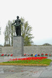 Piskarevskoe minnesmärkekyrkogård St Petersburg Royaltyfri Foto