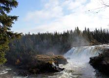 Piskewdalingen, Noordelijk Manitoba dichtbij Thompson royalty-vrije stock fotografie