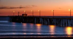 Pismo Beach, California, Pier Royalty Free Stock Photo
