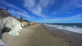 Pismo Beach California White Cliffs. 