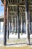Pismo, Beach, Pier Stock Photo