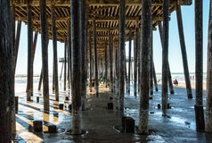 Pismo Beach Pier Stock Photography