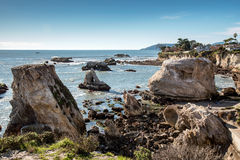 Pismo Beach Rugged Coastline Stock Images