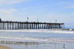 Pismo, playa, embarcadero Imágenes de archivo libres de regalías