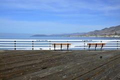 Pismo, playa, embarcadero Fotografía de archivo libre de regalías