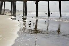 Pismo, playa, embarcadero Imagen de archivo libre de regalías