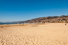 Pismo strand i Kalifornien arkivbild